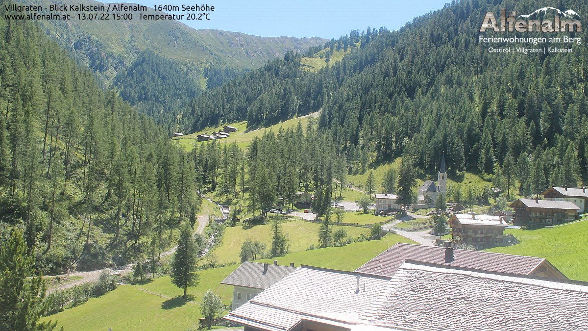 Alfenalm Webcam